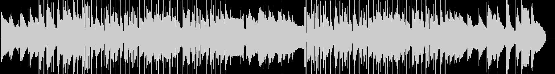 lofi風やさしいピアノのBGMの未再生の波形
