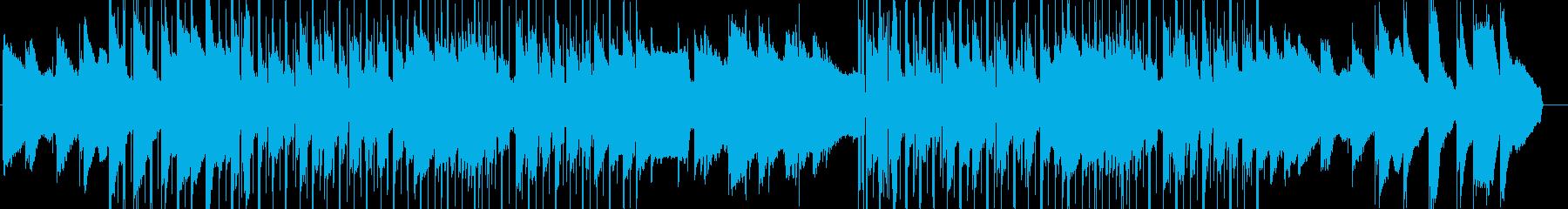 lofi風やさしいピアノのBGMの再生済みの波形