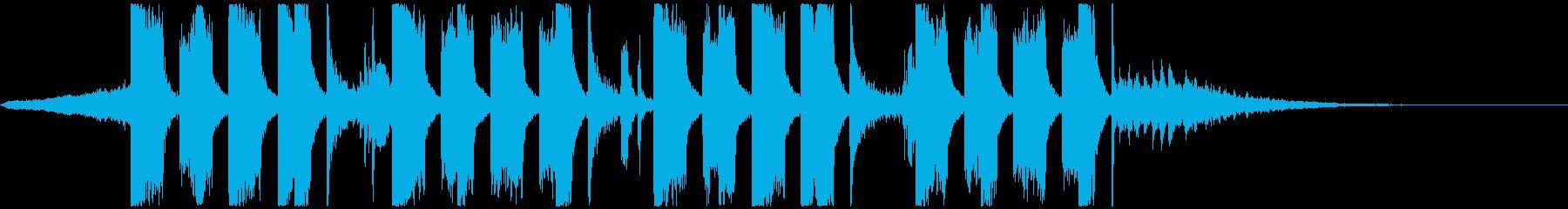 ジングル向けFuture Bass1の再生済みの波形