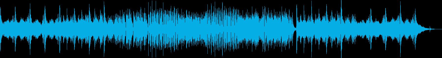 秋風のような流れるクラシックギター Aの再生済みの波形