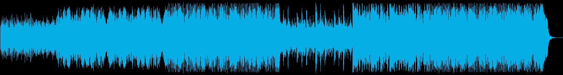笛の音が幻想的で冬っぽい世界観の再生済みの波形