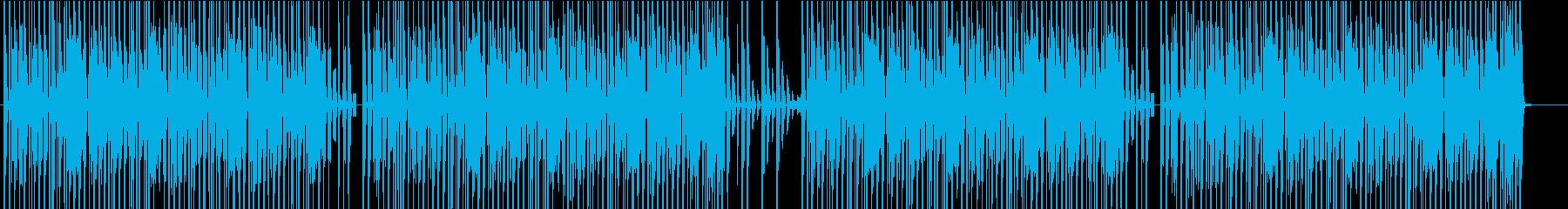 ファンク 劇的な レトロ 低音の再生済みの波形