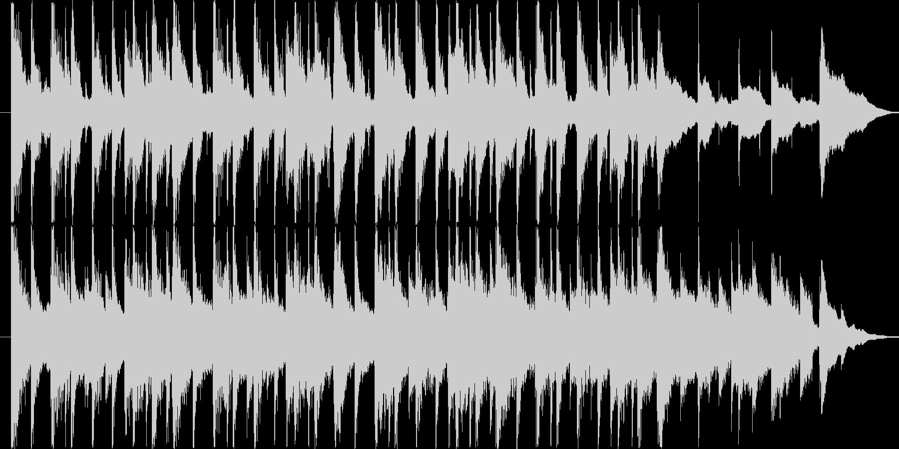 楽しい雰囲気のBGM(15ver)の未再生の波形