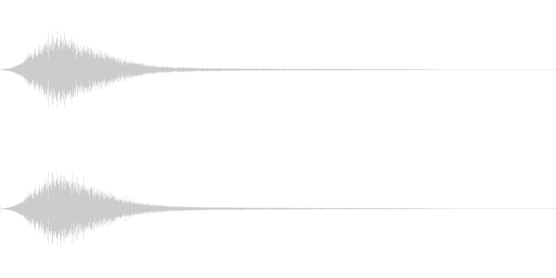 スッ(タイトルメニュー_キャンセル02)の未再生の波形
