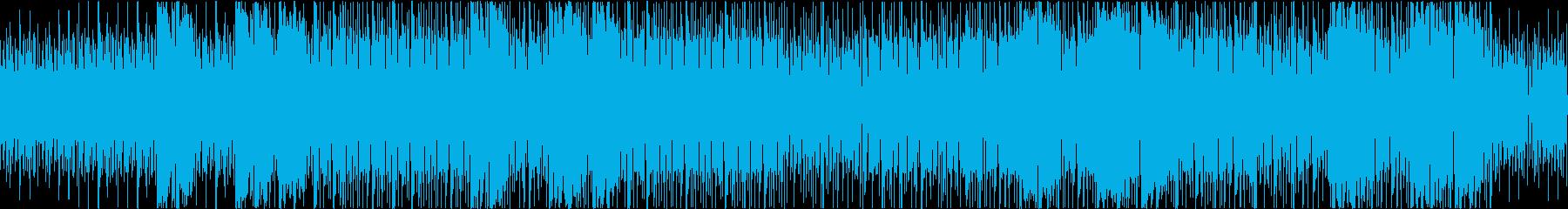 生音にこだわった夏&南国風のインストの再生済みの波形