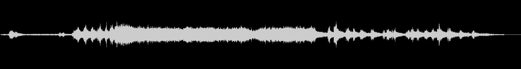 チェーンソーの開始、カット、停止、...の未再生の波形