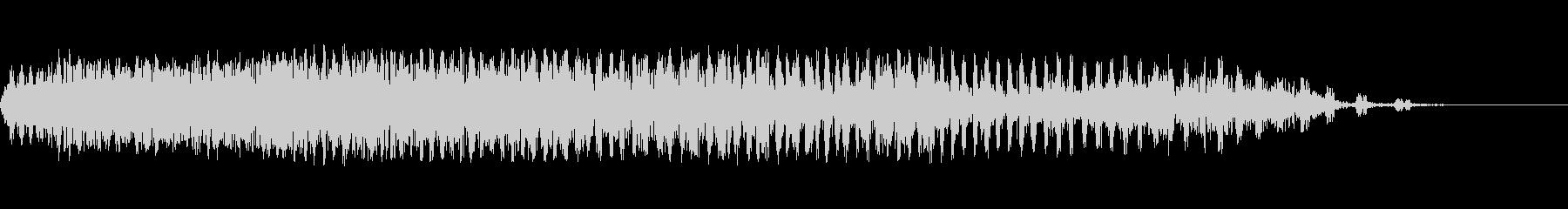 放電スワイプ2の未再生の波形