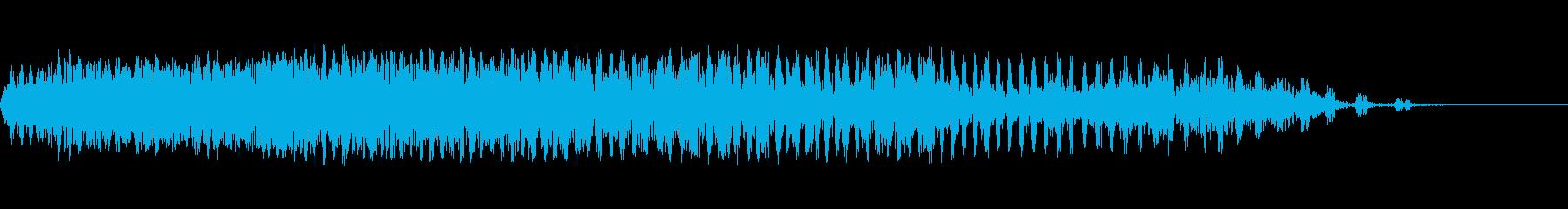 放電スワイプ2の再生済みの波形