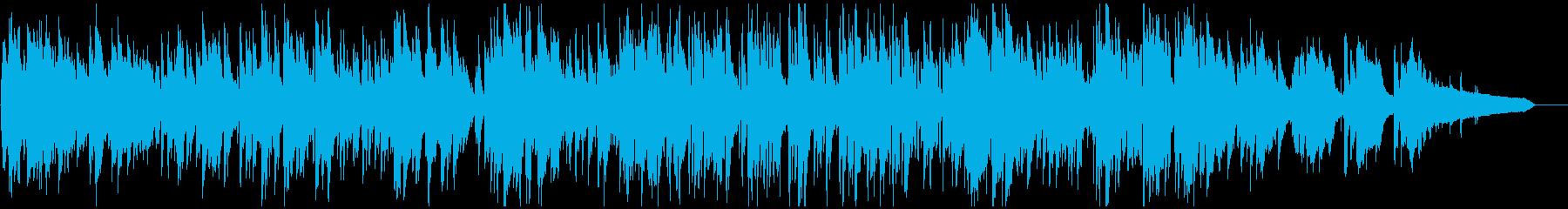 しっとり系ボサノバ、ソフトなサックスの再生済みの波形