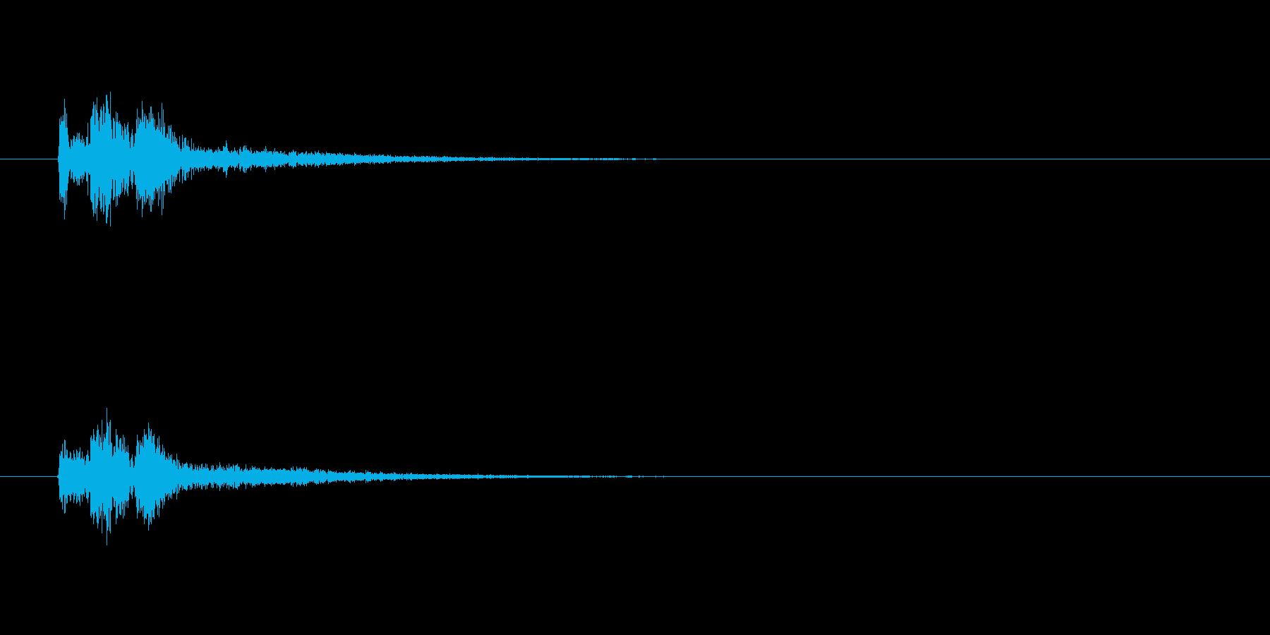 【スポットライト03-1】の再生済みの波形
