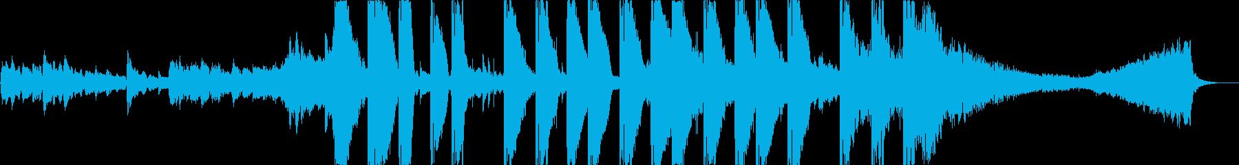HIPHOPとオーケストラの融合アジア風の再生済みの波形