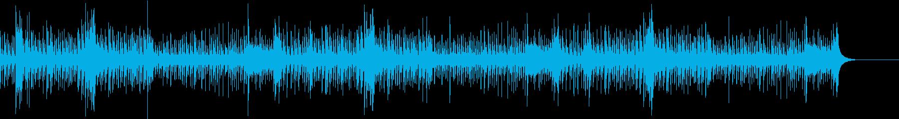 楽しいおもちゃの音楽隊風の再生済みの波形