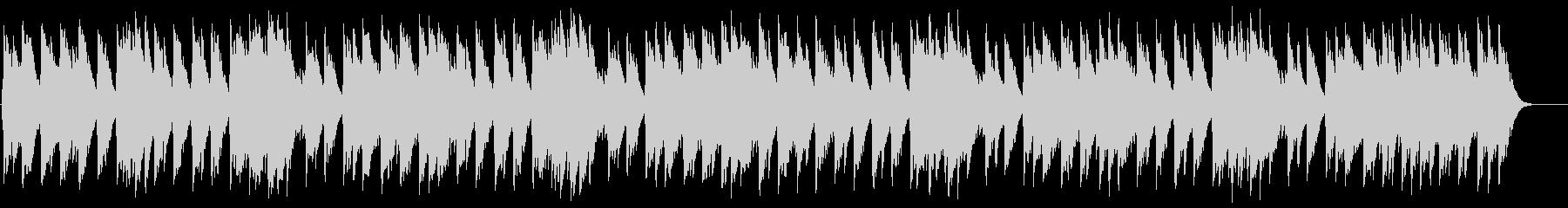 ホッカホカの十字パン オルゴールの未再生の波形
