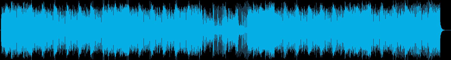 ソウルフルでエキサイティングなポップスの再生済みの波形