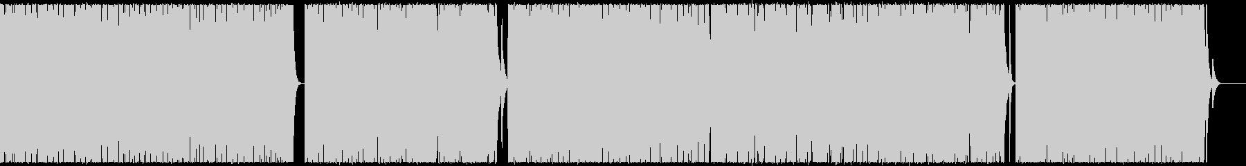 マリンバと鉄琴の爽やかで軽やかなポップスの未再生の波形