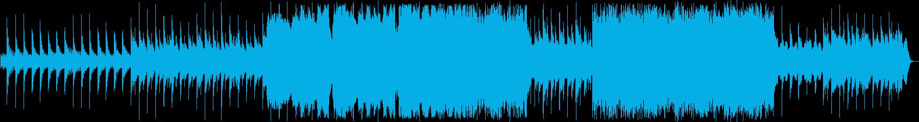 柔らかいイメージの和風ソングの再生済みの波形