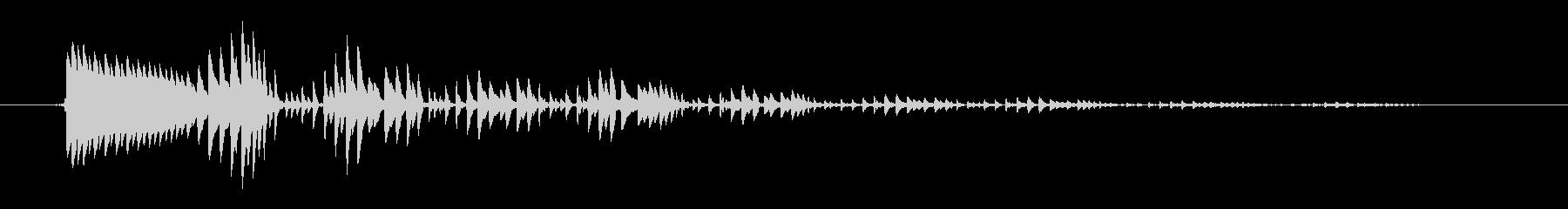 ジョーハープ:ワーブリーボインの未再生の波形