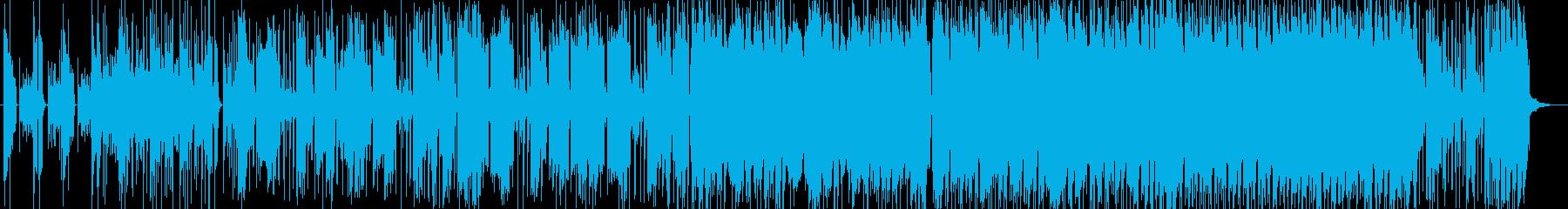 EGT、情熱的なポップロックのんの再生済みの波形