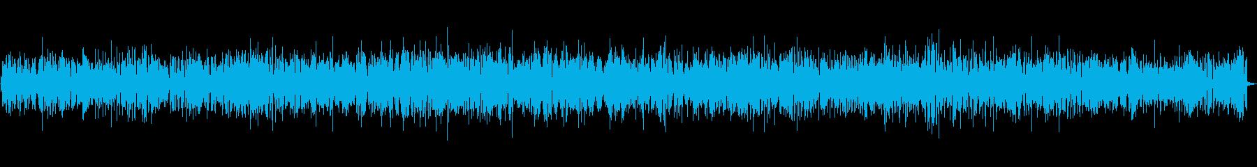 爽快なリズムが魅力的なジャズBGMの再生済みの波形