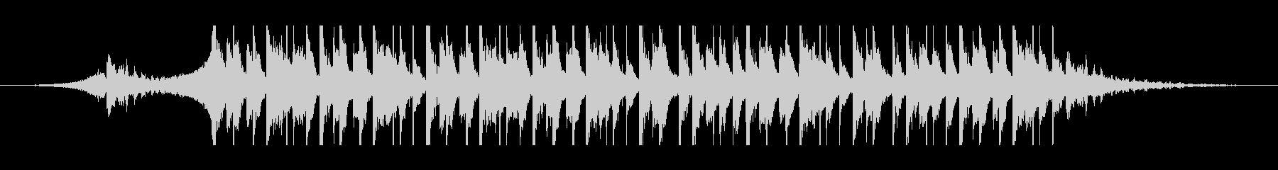 アラビア語(30秒)の未再生の波形