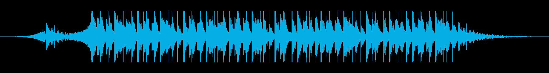 アラビア語(30秒)の再生済みの波形