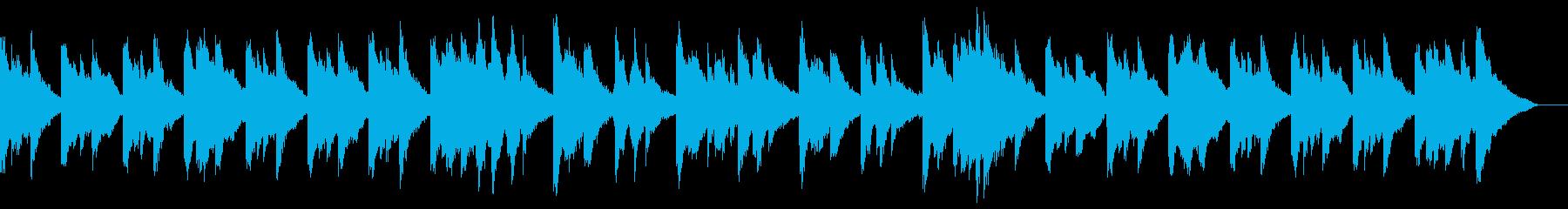 幻想的なシーンに合うピアノBGMの再生済みの波形
