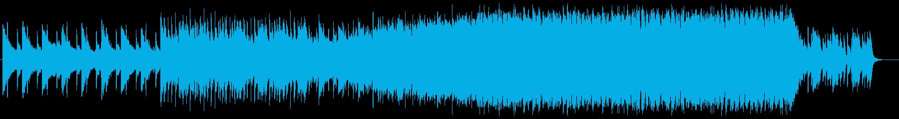 エモいEDMの再生済みの波形