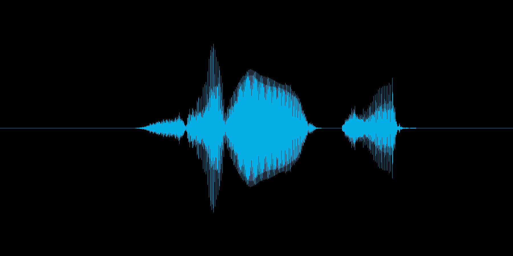 3密の再生済みの波形