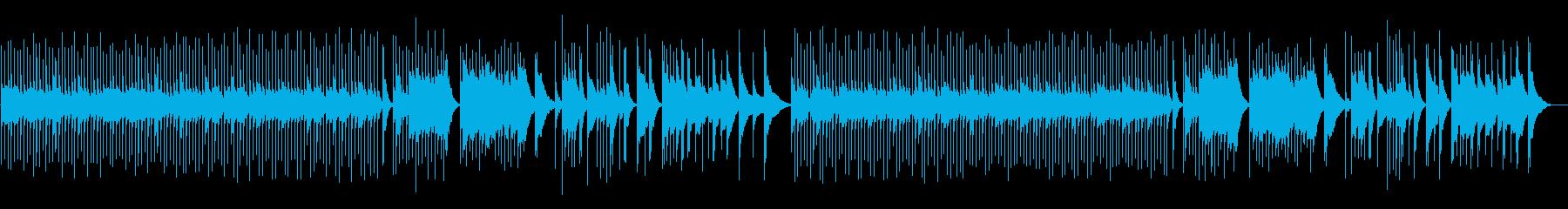 優しい・感動・オルゴールの再生済みの波形