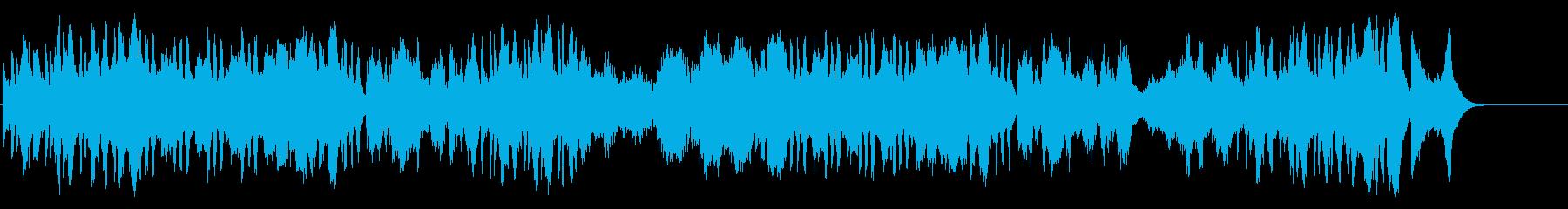 華々しく気品高いオープニング風クラシックの再生済みの波形