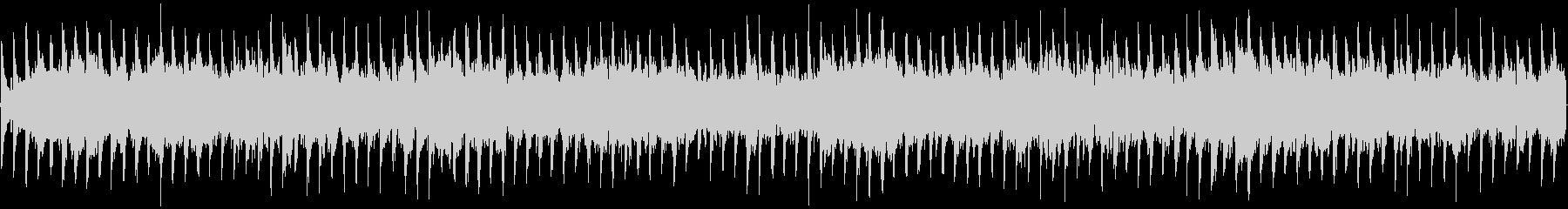 神秘的なシンセ主体ループ楽曲の未再生の波形