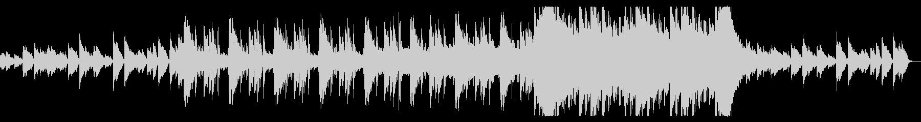 切ないピアノで彩るエモバラードの未再生の波形