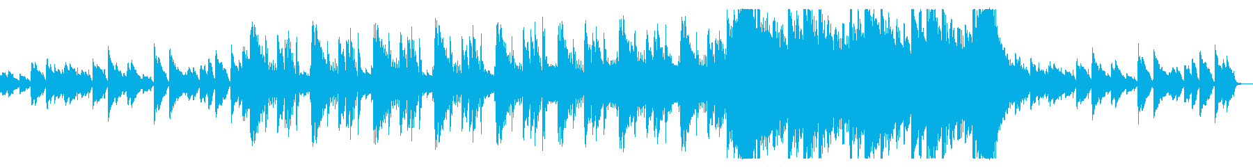 切ないピアノで彩るエモバラードの再生済みの波形