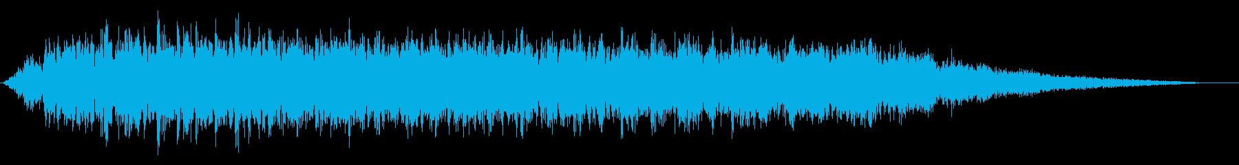 【ダークアンビエント】ホラーBGM_03の再生済みの波形