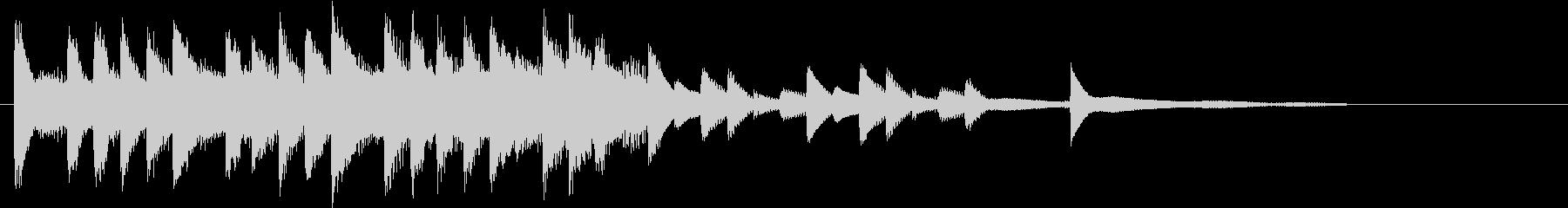 XmasキャロルオブザベルズジングルFの未再生の波形