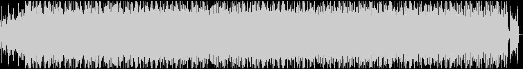 エキサイティングなオープニング曲の未再生の波形