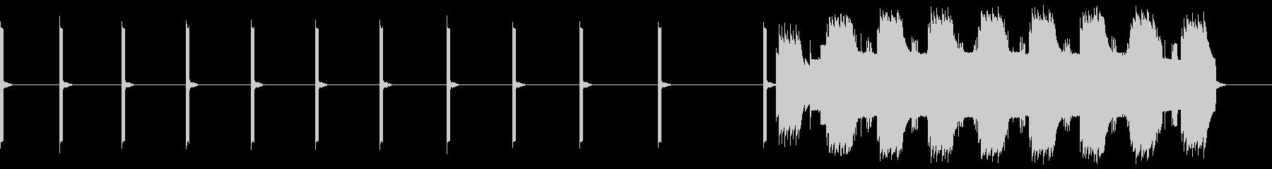 「心停止」ECGモニター(心電図)の未再生の波形