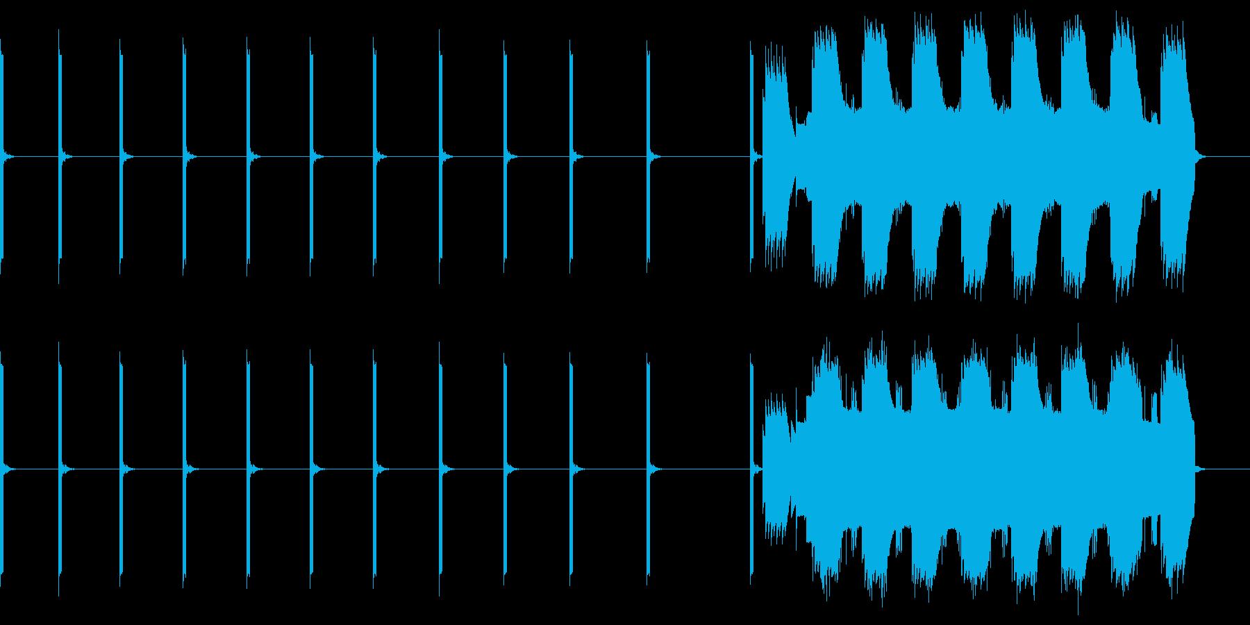 「心停止」ECGモニター(心電図)の再生済みの波形