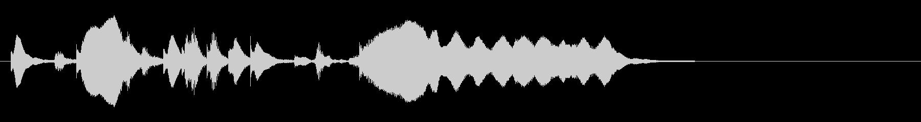 のほほんジングル022_ほのぼのの未再生の波形