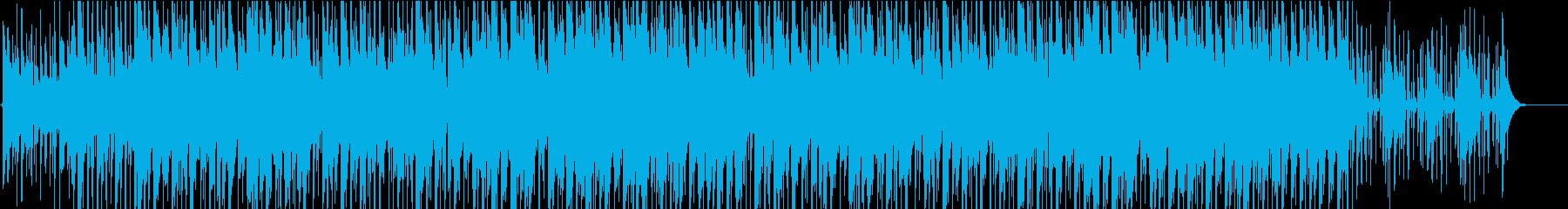 日常を演出する温かいポップスの再生済みの波形