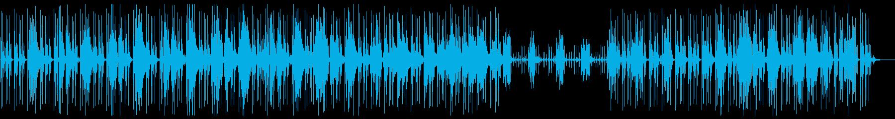 シンプルで落ち着いたジャジーヒップホップの再生済みの波形
