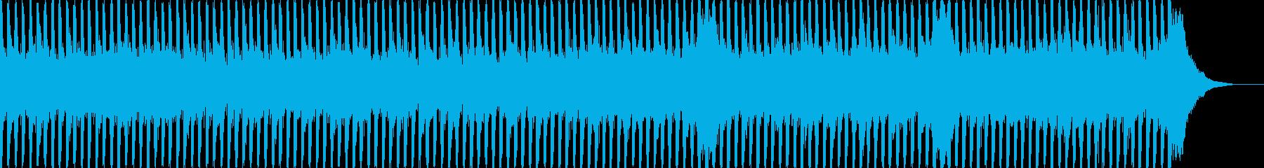 企業VP向け19、爽やかポップ4つ打ちbの再生済みの波形