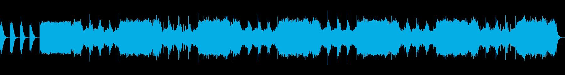 ゆっくりと目覚めさせてくれる瞑想音楽の再生済みの波形
