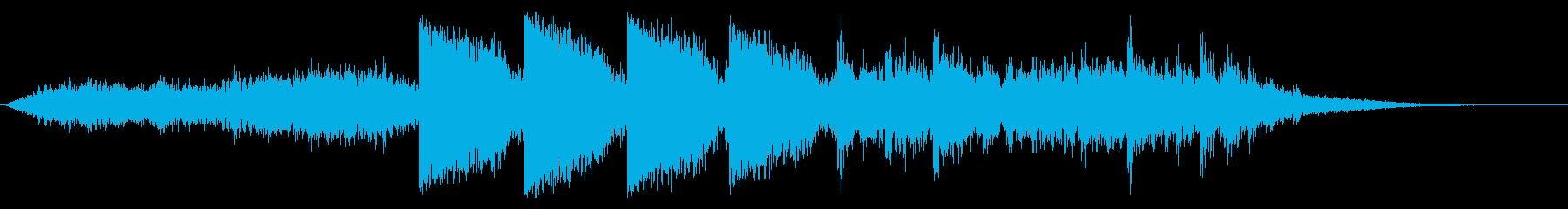 ダークなアンビエント ブラス無60秒版の再生済みの波形