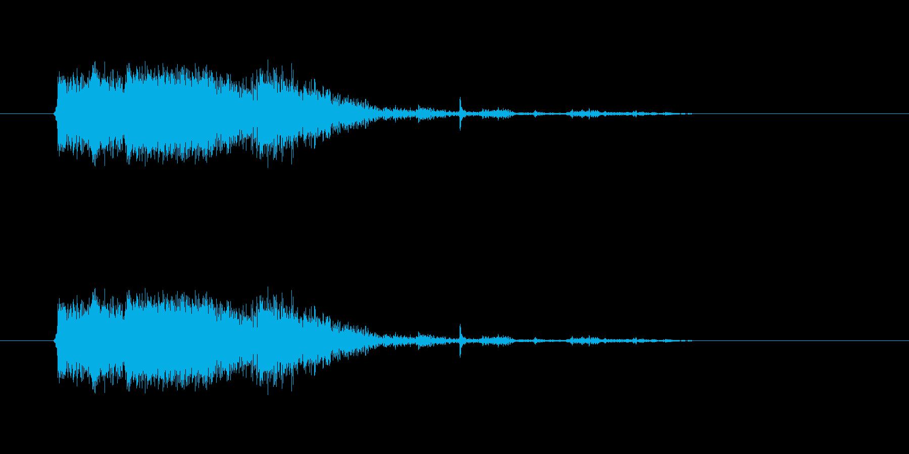 爆発31の再生済みの波形