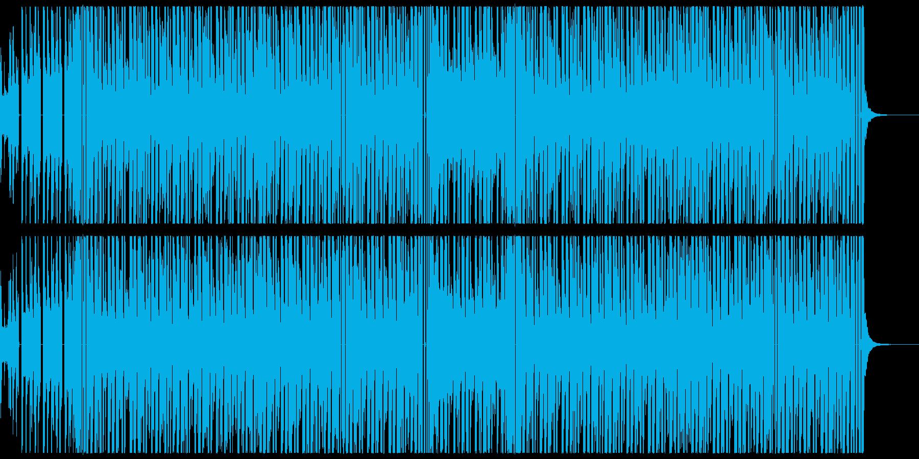 声ネタの入ったヒップホップの再生済みの波形