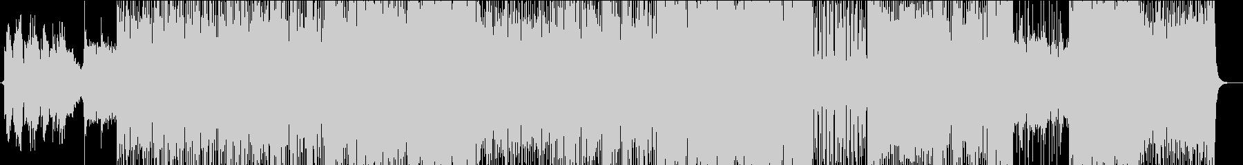 アニメ・ゲーム系ダークJ-POPの未再生の波形