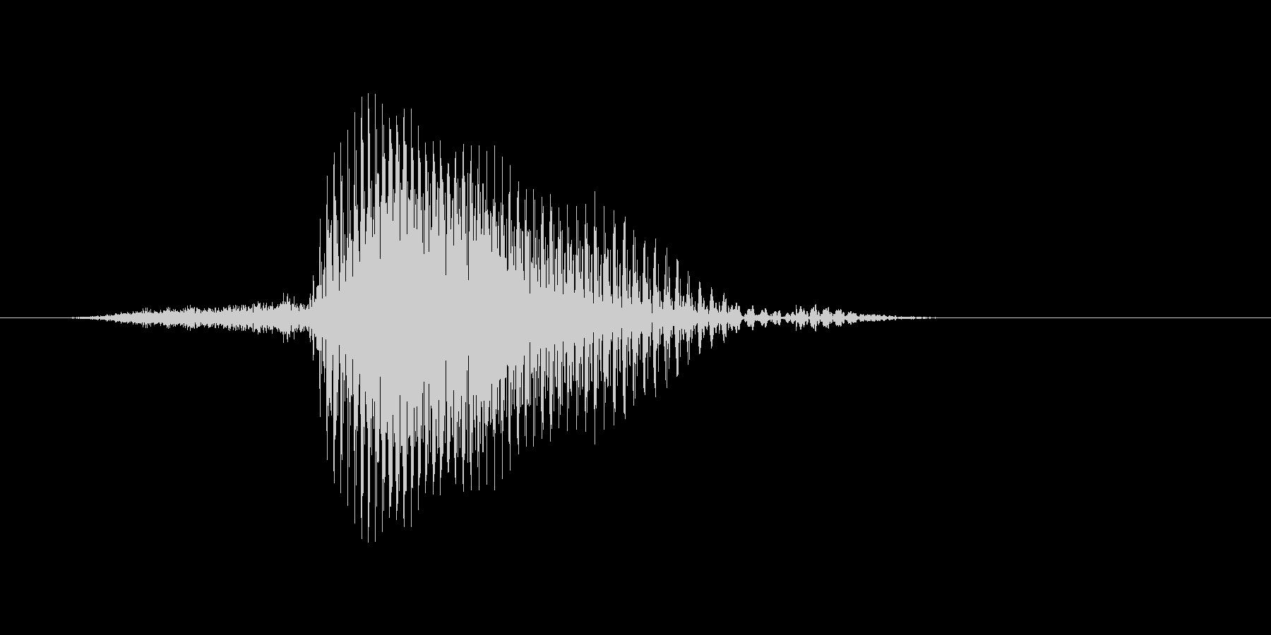 Third(サード)の未再生の波形