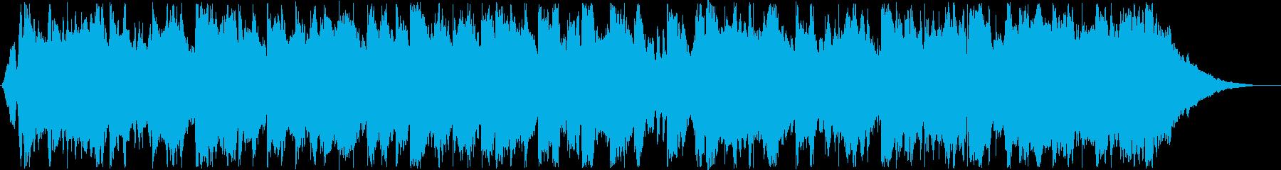 ハーモニカによるカントリーミュージックの再生済みの波形