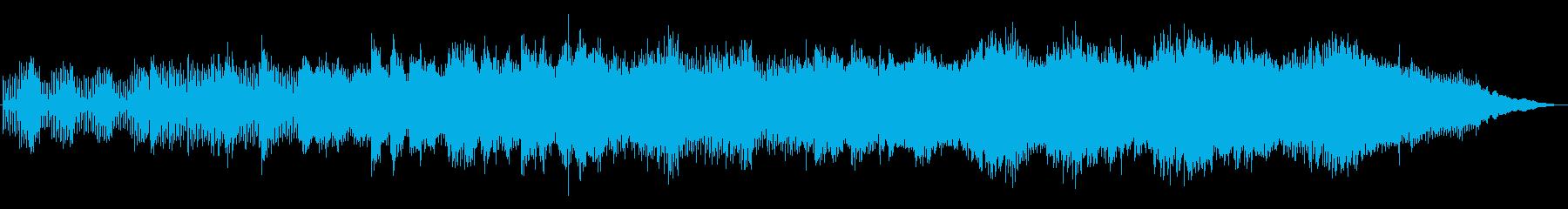 優しくきらびやかなテクノの再生済みの波形